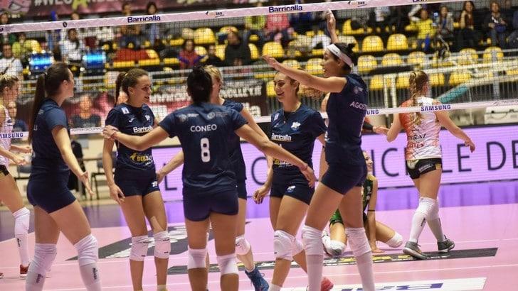 Volley: A2 Femminile, netto successo del Cus Torino su  Ravenna