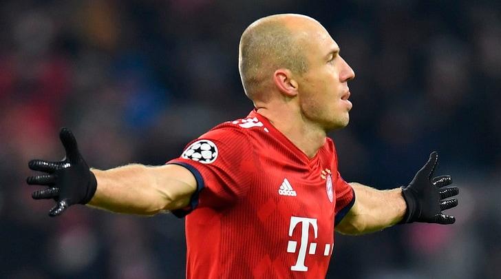 Calciomercato: Robben-Lazio, i bookmaker ci credono