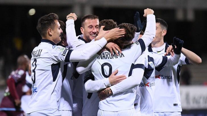 Serie B Salernitana-Brescia, tripletta di Donnarumma: finisce 1-3