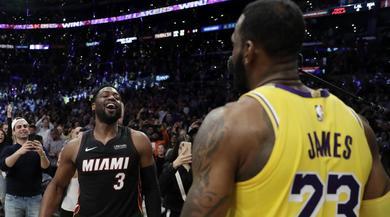NBA, LeBron James vince l'ultima sfida con Wade. Clippers ok all'overtime