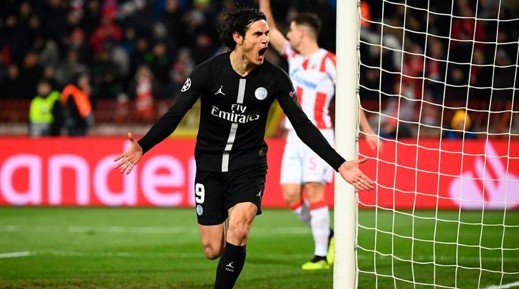 Champions, Cavani lancia il Psg. Il Tottenham ferma il Barcellona e vola agli ottavi