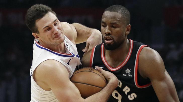 Nba: Toronto domina, ko i Clippers di Gallinari