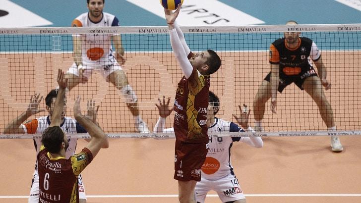 Volley: Superlega, domani l'anticipo della 2a di ritorno fra Vibo-Siena