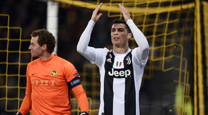 Young Boys-Juventus, le pagelle: Cristiano Ronaldo, tre errori non da lui