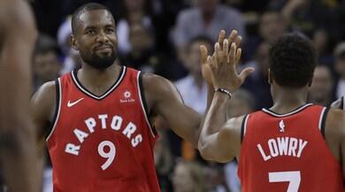 Nba, Toronto show: +20 in trasferta sul campo dei Warriors senza Leonard