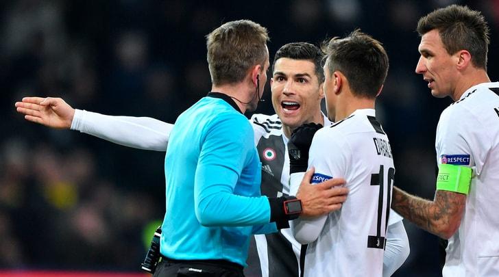 La moviola di Young Boys-Juventus: manca un rigore su Cristiano Ronaldo