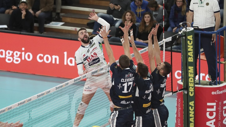 Volley: Superlega,  l'MVP del mese di novembre è Uros Kovacevic