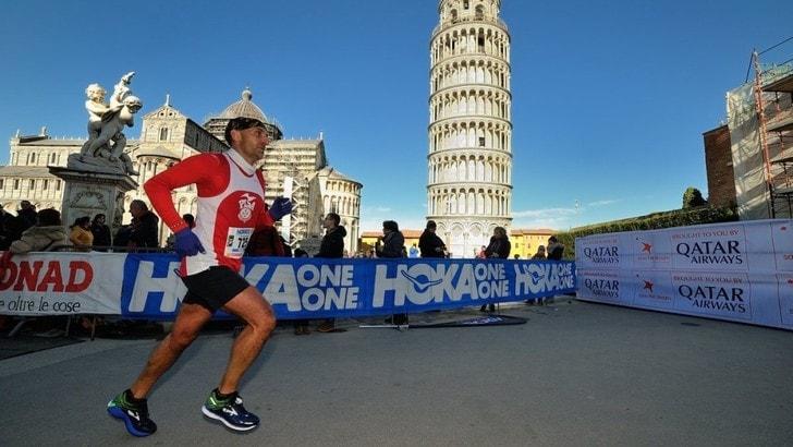 Record iscrizioni alla 20^ Maratona di Pisa, eccezionalmente riaperte online