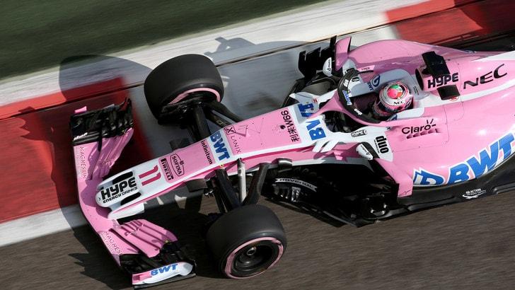 F1 Racing Point, Perez: «Lavorerò con Stroll per il bene della squadra»