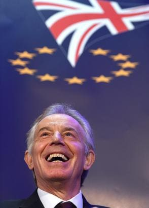 Brexit: May attacca Blair