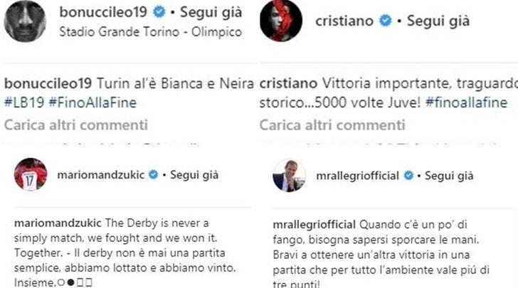 "Ronaldo: «5000 volte Juventus». Bonucci: «Turin al'è Bianca e Neira""»"