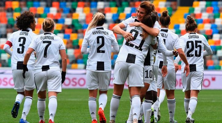 Juventus Women, la doppietta di Girelli al Tavagnacco vale il primato