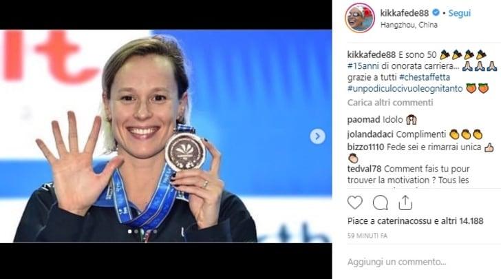 Nuoto, Mondiali in vasca corta: 50ª medaglia per Pellegrini, bronzo nella 4x100 mista