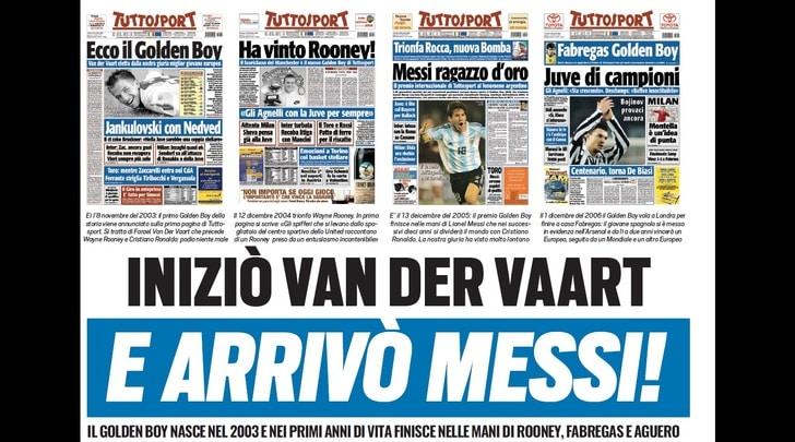 Golden Boy, iniziò Van der Vaart e arrivò Messi!