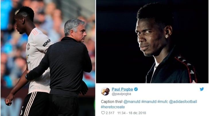 Mourinho via, Pogba se la ride e poi cancella il post. E la Juventus...
