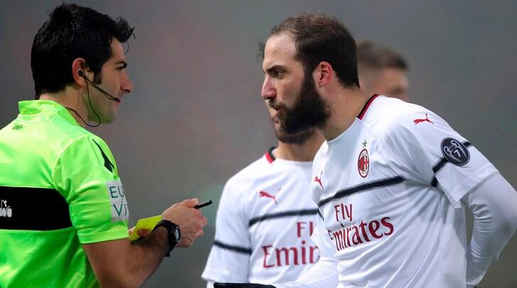 Bologna-Milan 0-0: rosso a Bakayoko. Dov'è finito Higuain?