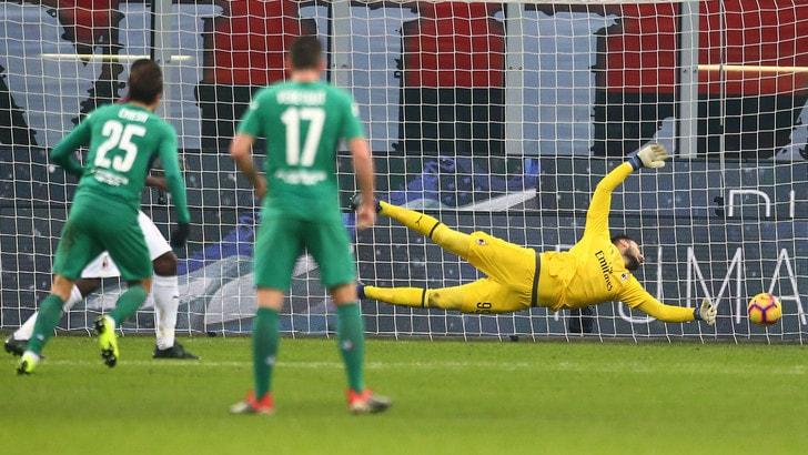 Serie A Milan-Fiorentina 0-1, il tabellino