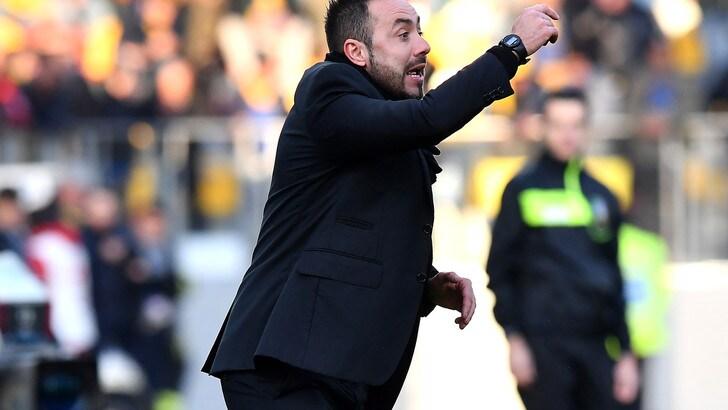 Serie A Sassuolo, De Zerbi: «Abbiamo creato tanto, ma potevamo fare di più»