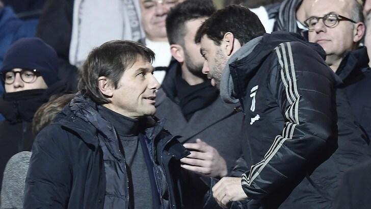 Sky Sports: «Contatto tra Juve e Conte: pronto nel caso Allegri dica addio»