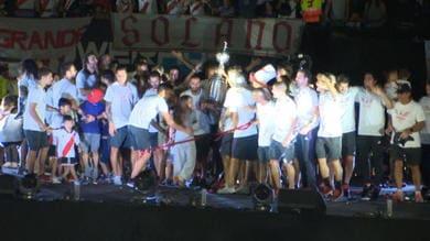 River, mega-festa per la Libertadores al 'Monumental'