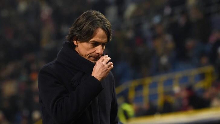 Serie A Bologna, Inzaghi: «I fischi? Sono giustificati»