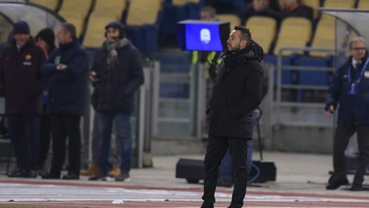 Serie A Sassuolo, De Zerbi: «Quando c'è da alzare l'asticella veniamo meno»