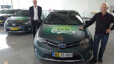 Carlsberg sceglie il Full Hybrid Electric di Toyota