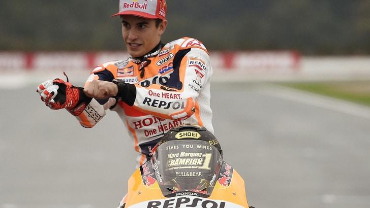 MotoGp, lo scherzo di Marquez: «Correrò con l'1 nel 2019»