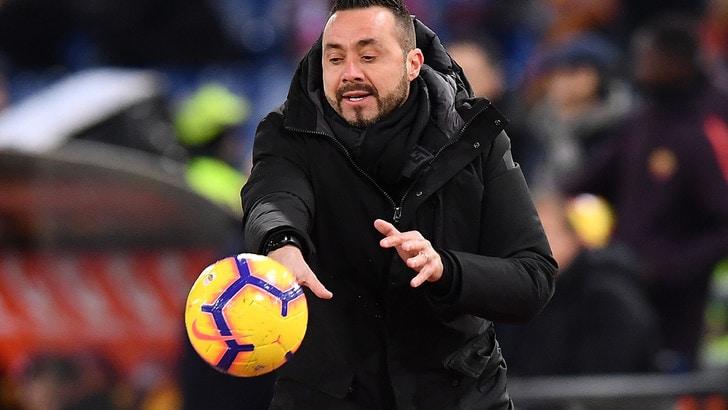 Serie A Sassuolo, De Zerbi: «Duncan ha recuperato, ci sarà»