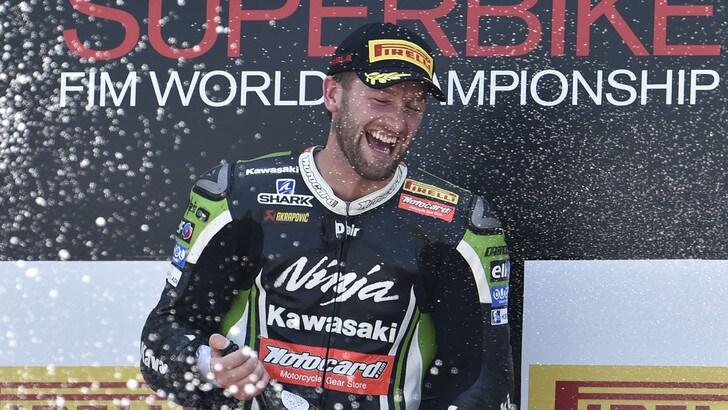 Sbk BWM Motorrad, Sykes: «Stiamo progredendo in maniera veloce»