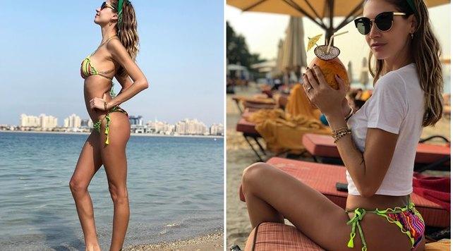 Il bikini di Melissa Satta fa impazzire i fan: Boateng non c'è