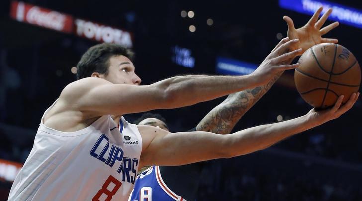 NBA, Gallinari realizza 21 punti ma Philadelphia supera i Los Angeles Clippers