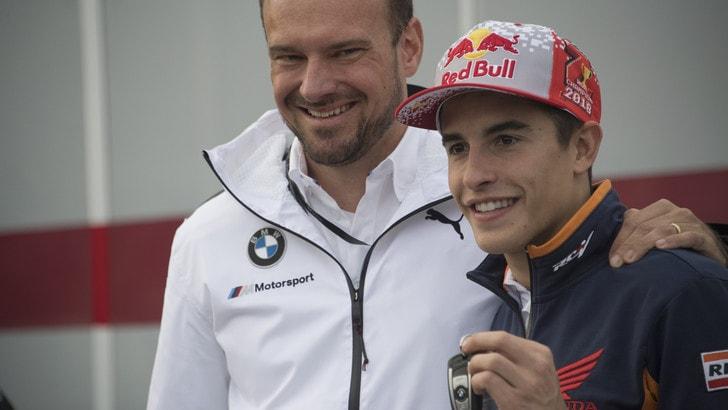 MotoGp Honda, Marquez: «Non proverò a dare la mano a Rossi»