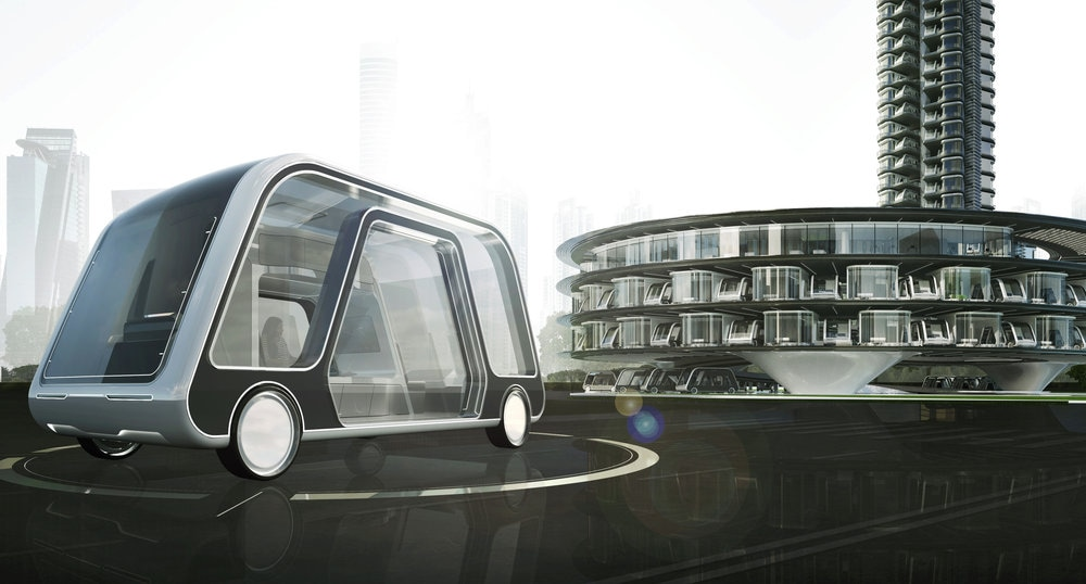 L'albergo va in viaggio su una suite a guida autonoma