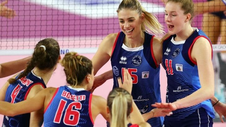 Volley: A1 Femminile, Scandicci-Filottrano apre la 1a di ritorno