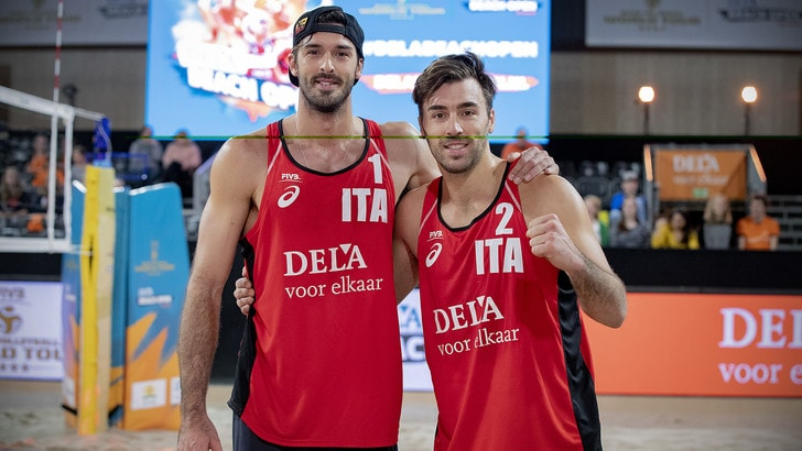 Beach Volley: a L'Aia finisce la corsa di Ranghieri-Caminati