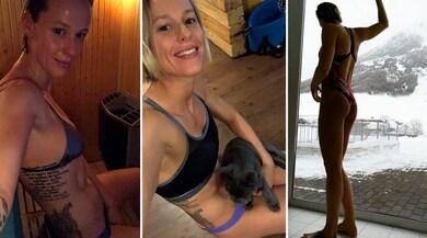 Federica Pellegrini show: «Sauna in costume, la foto nuda no...»