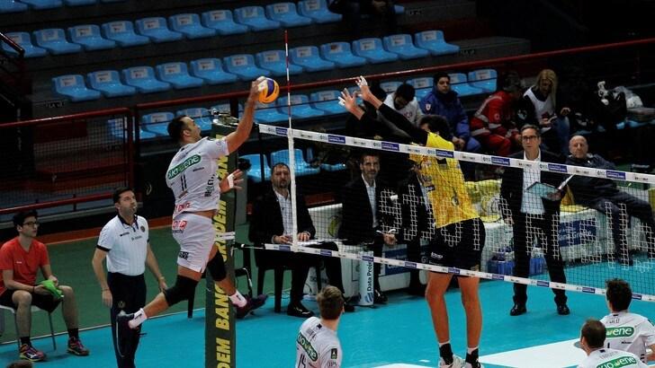 Volley: Superlega, Verona mette alla corde la Lube, Modena facile con Ravenna