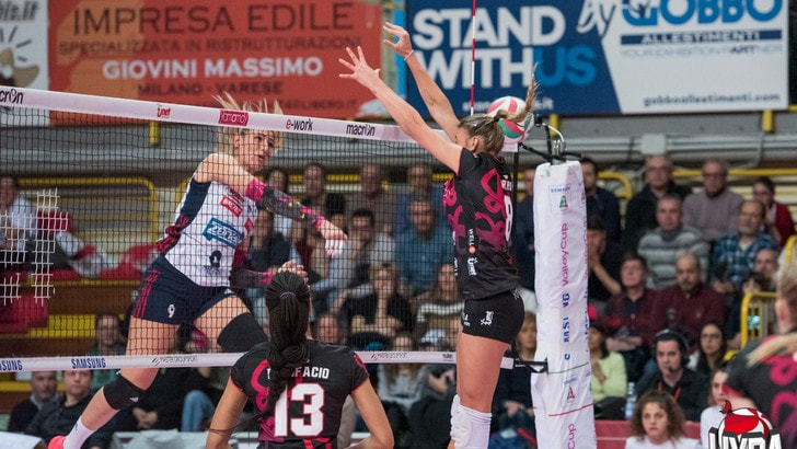 Volley: A1 Femminile, Brescia sgambetta Novara, quattro vittorie esterne