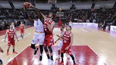 Basket, Serie A2: successo sofferto per Bologna