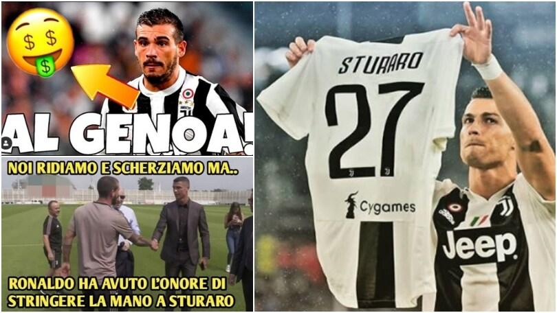 Juventus, Sturaro verso il ritorno a Genoa: l'affare visto dai social