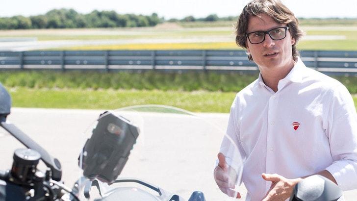 CES 2019: Ducati interconnessa con Audi e Ford