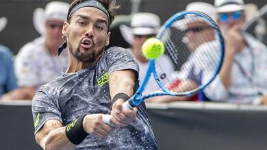 Tennis, Australian Open: Fognini favorito al debutto