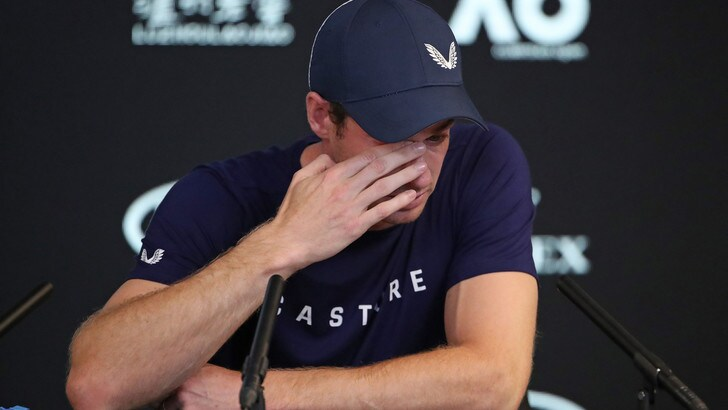 Australian Open: Murray, addio al tennis a fine torneo?