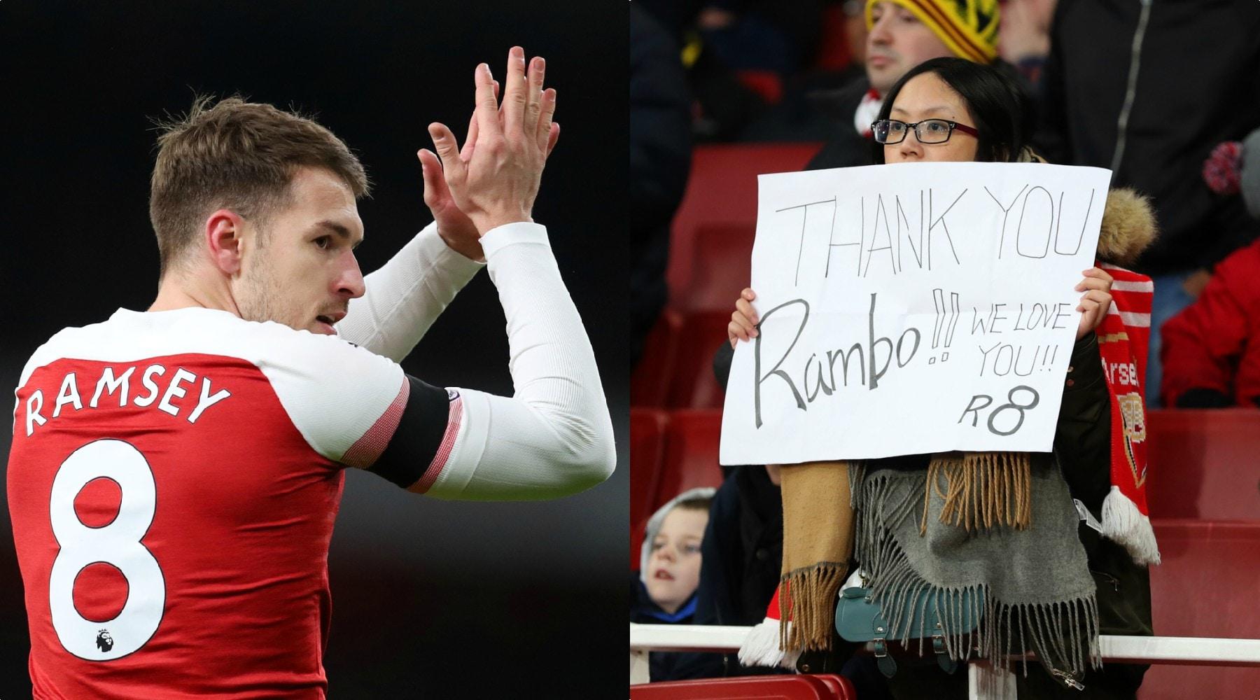 Juve, 10 frasi per raccontare chi è «Rambo» Ramsey