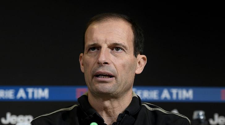 Juventus, Allegri: «Mercato? Stiamo bene così, ora non abbiamo bisogno di nessuno»