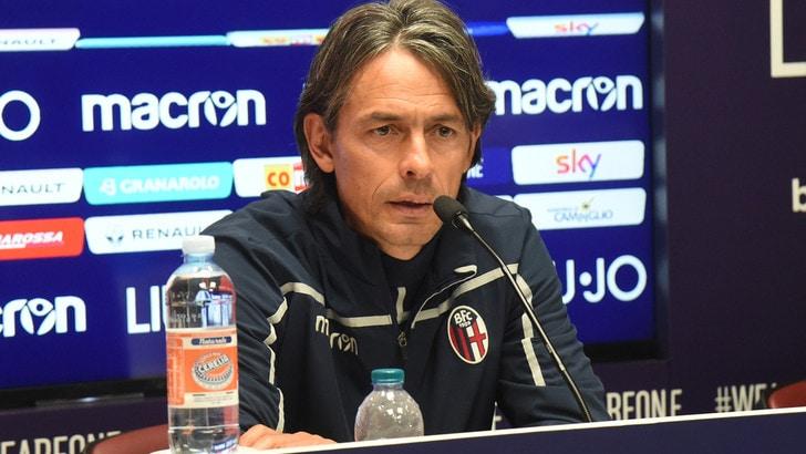 Coppa Italia Bologna, Inzaghi: «Juventus? Forse la più forte d'Europa»