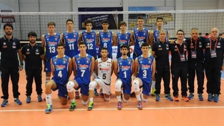 Volley: per l' Italia Under 17 terzo successo e semifinale conquistata