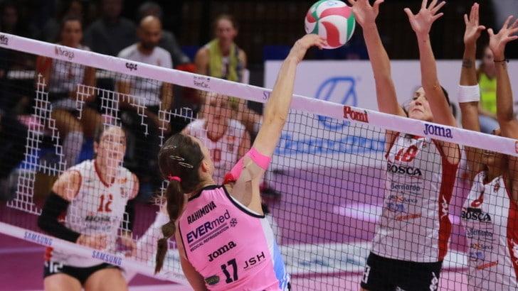 Volley: A1 Femminile,  la 16a giornata inizia con Casalmaggiore-Firenze
