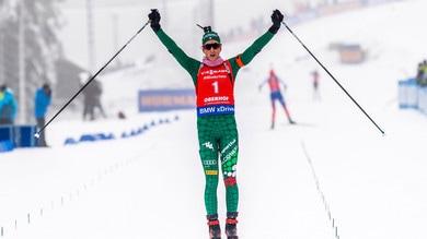 Biathlon, Vittozzi vince anche nell'inseguimento: che doppietta a Oberhof